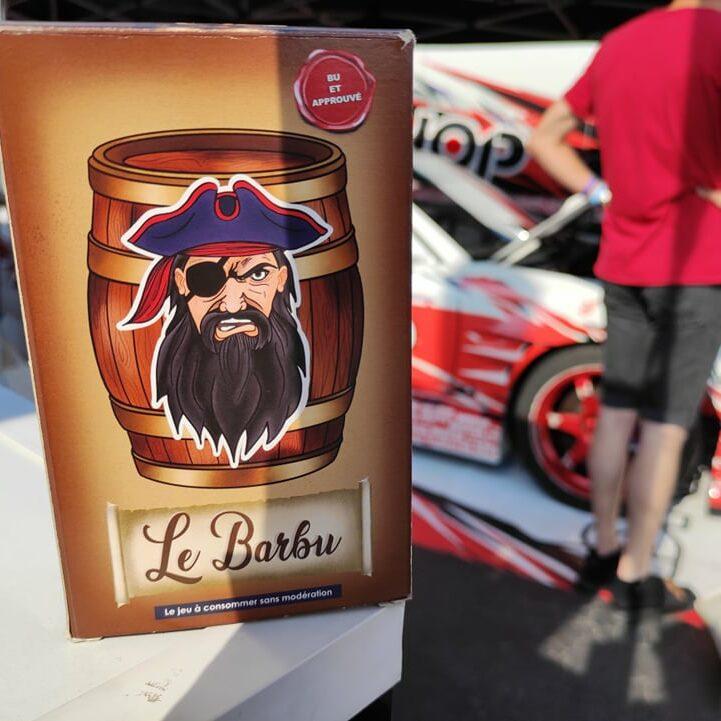 Le Barbu à la Drift cup !!!